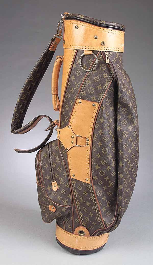 0649: Vintage Louis Vuitton Golf Bag