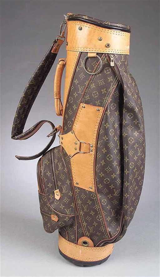 0649 Vintage Louis Vuitton Golf Bag