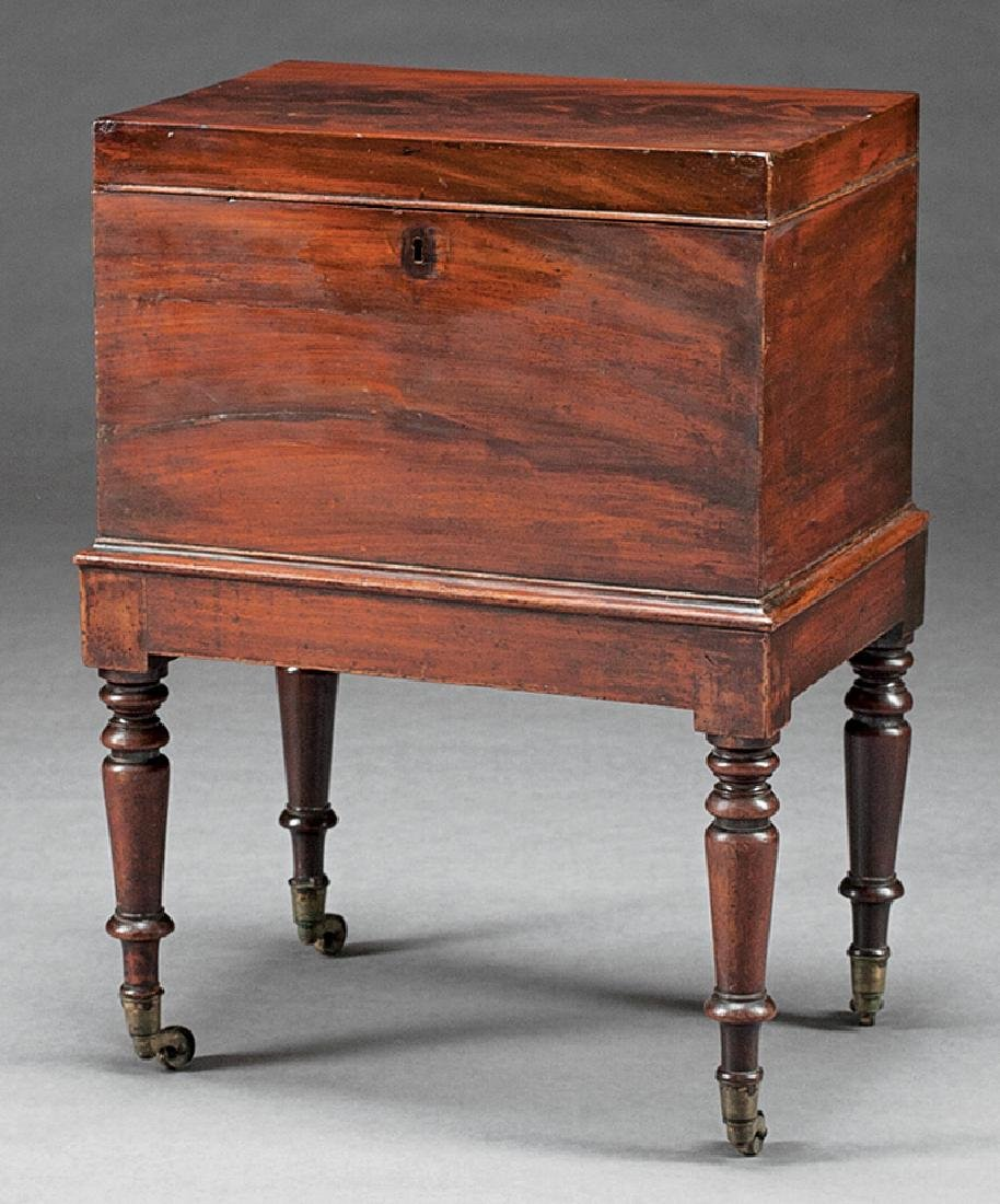 George IV Mahogany Cellarette