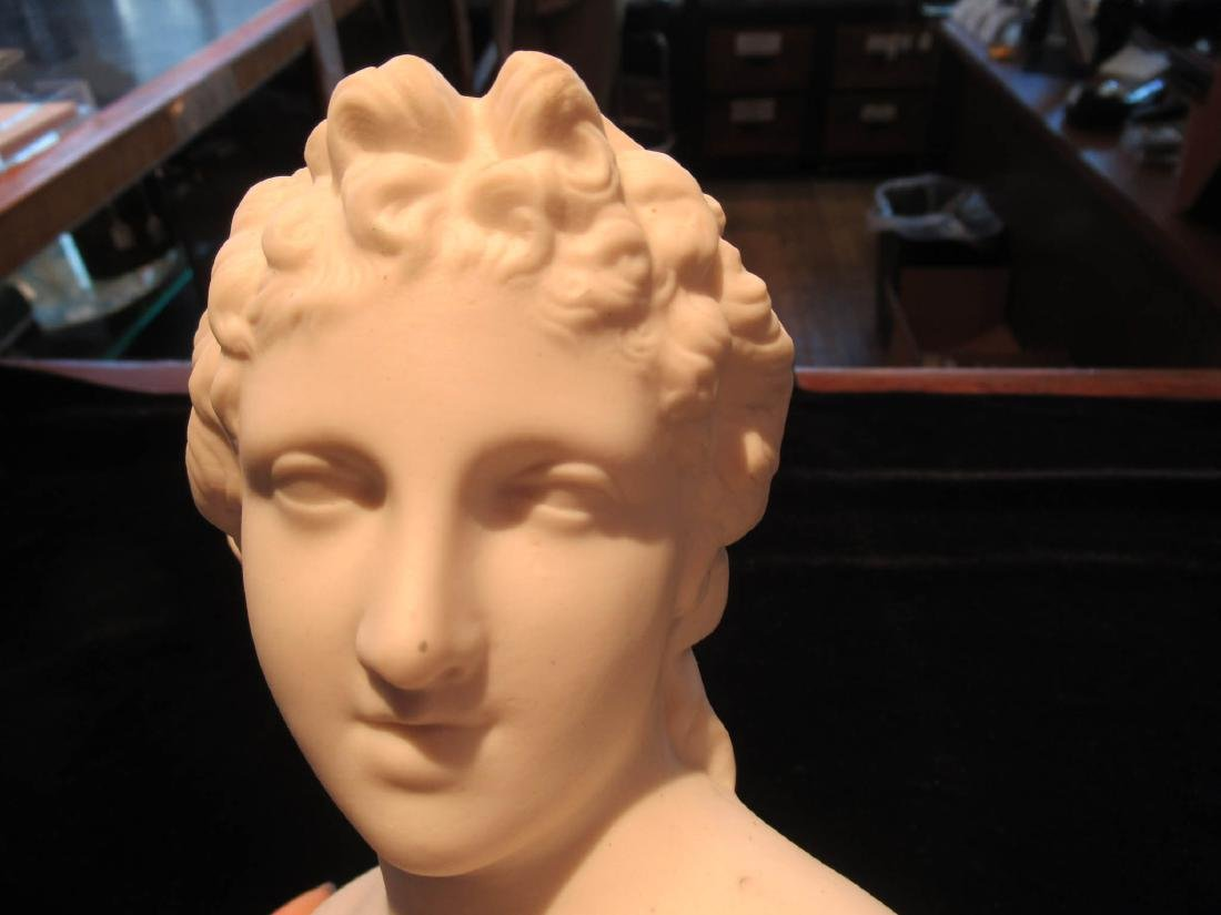 Parian Busts of Apollo and Diana - 4