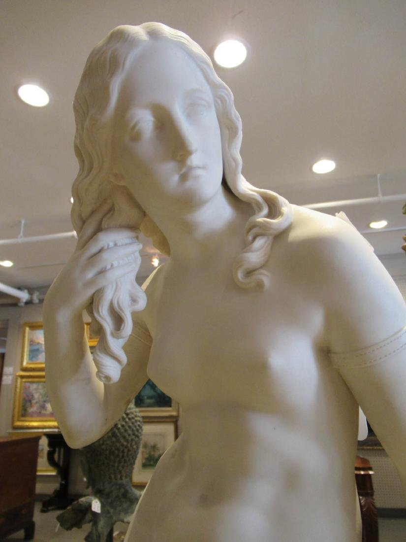 "Copeland Parian Figure of ""Egeria"" - 3"