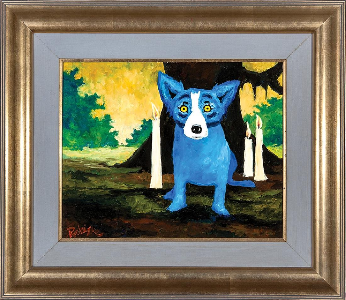 George Rodrigue (American/Louisiana, 1944-2013)