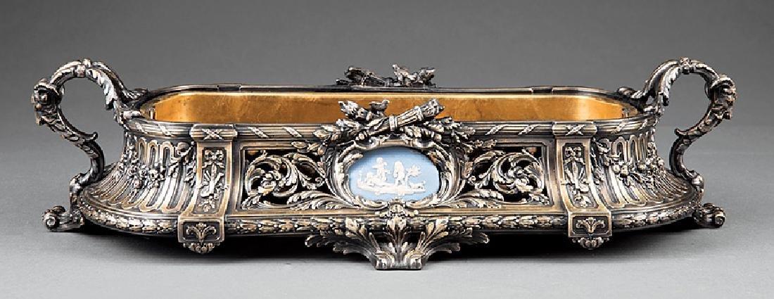 Louis XVI-Style Argente Bronze Jardiniere