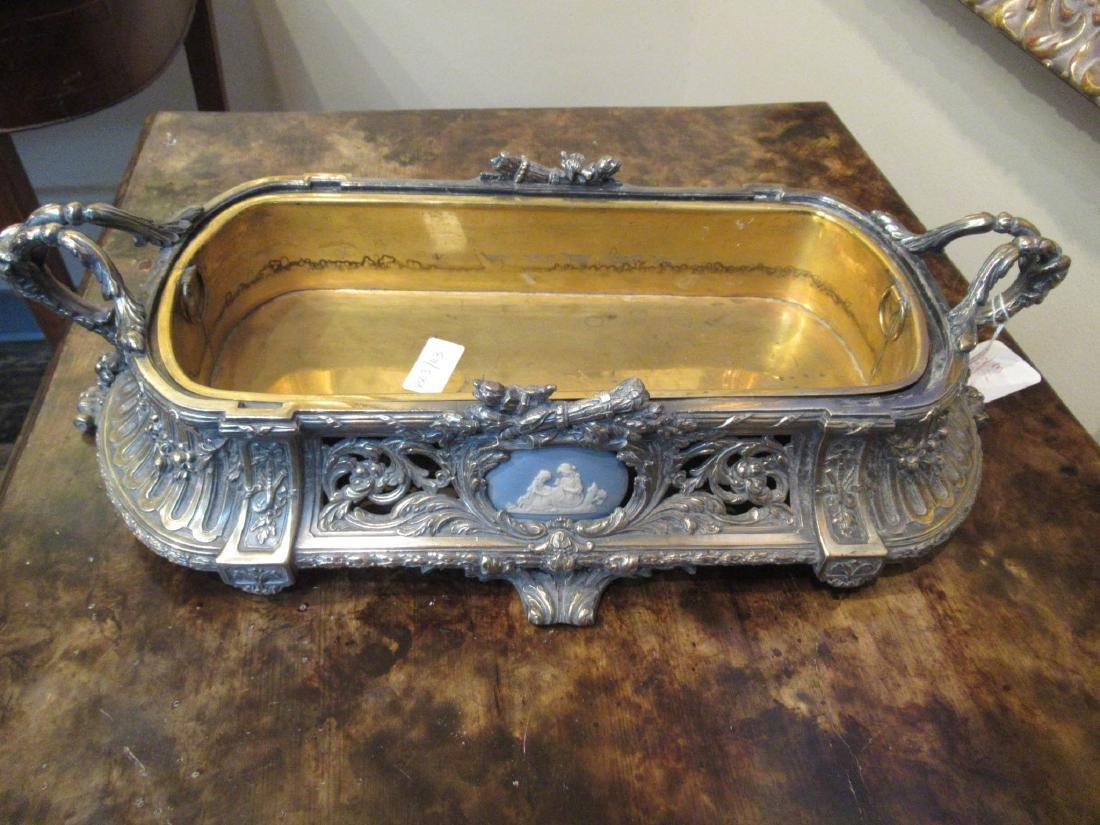 Louis XVI-Style Argente Bronze Jardiniere - 6