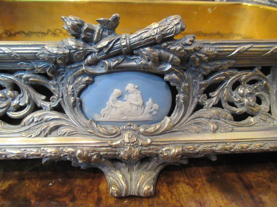 Louis XVI-Style Argente Bronze Jardiniere - 7