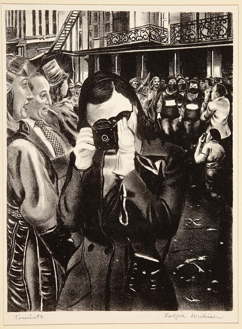 Ralph Lewanda Wickiser (American/Louisiana, 1910) - 3