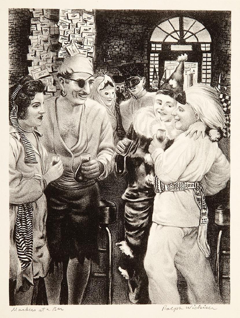Ralph Lewanda Wickiser (American/Louisiana, 1910) - 5