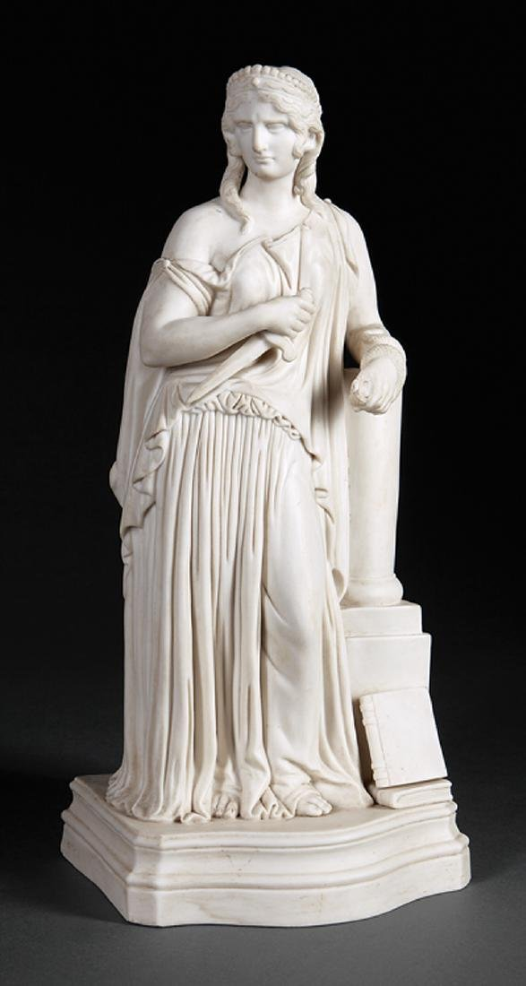 Parian Figure of Cleopatra