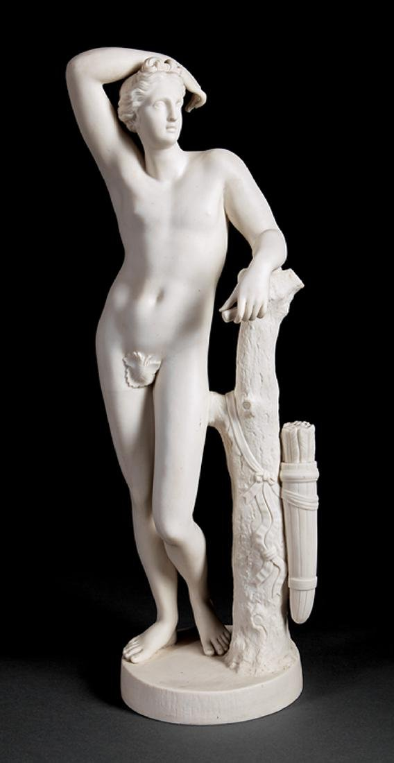 Parian Figure of Apollo