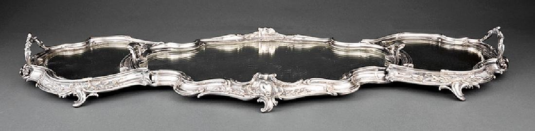 Louis XV-Style Silverplate Surtout de Table