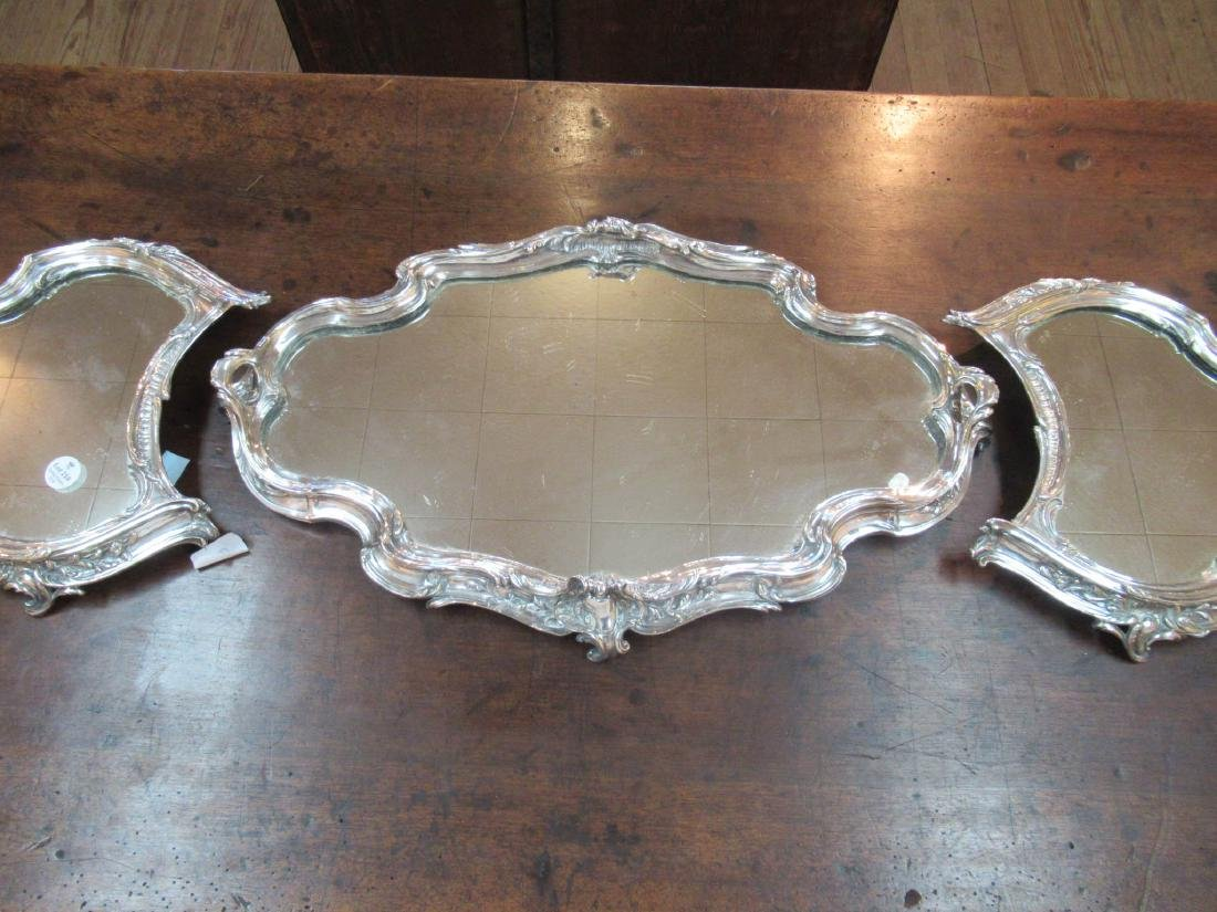 Louis XV-Style Silverplate Surtout de Table - 3