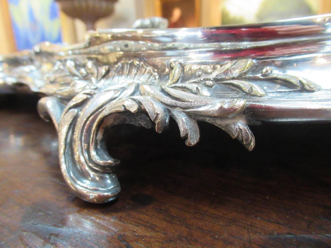 Louis XV-Style Silverplate Surtout de Table - 7