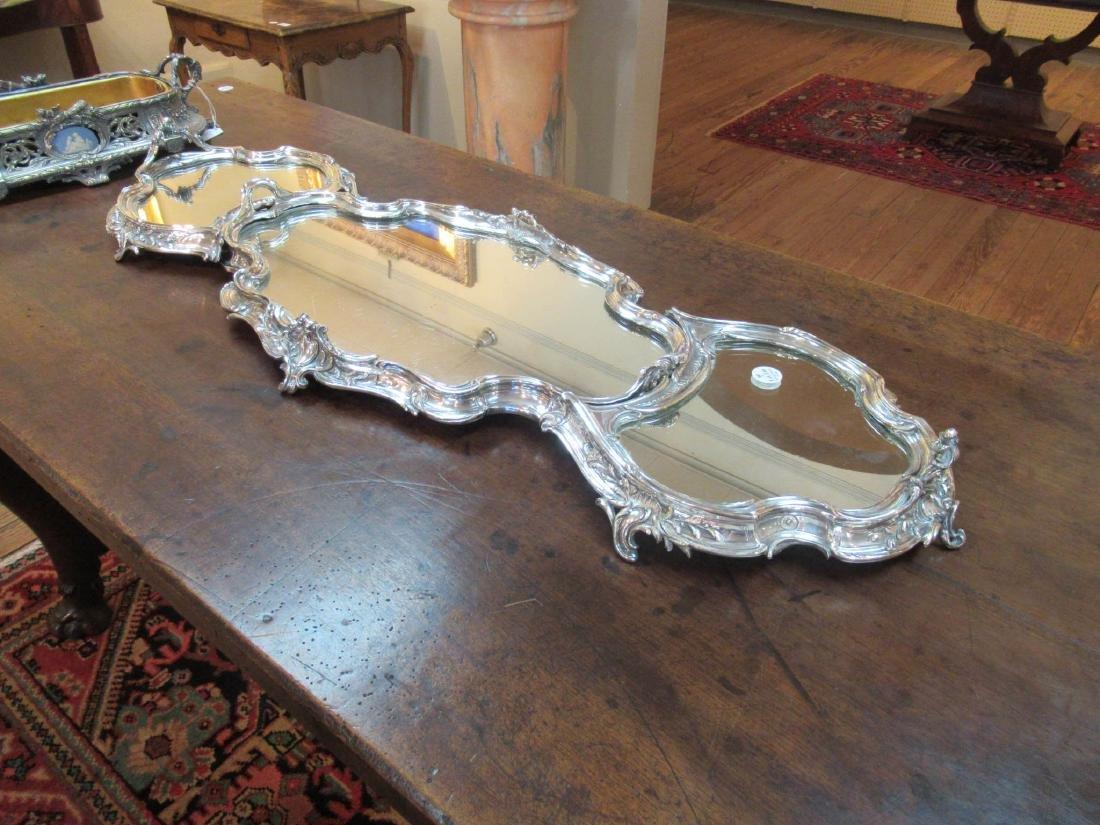 Louis XV-Style Silverplate Surtout de Table - 9