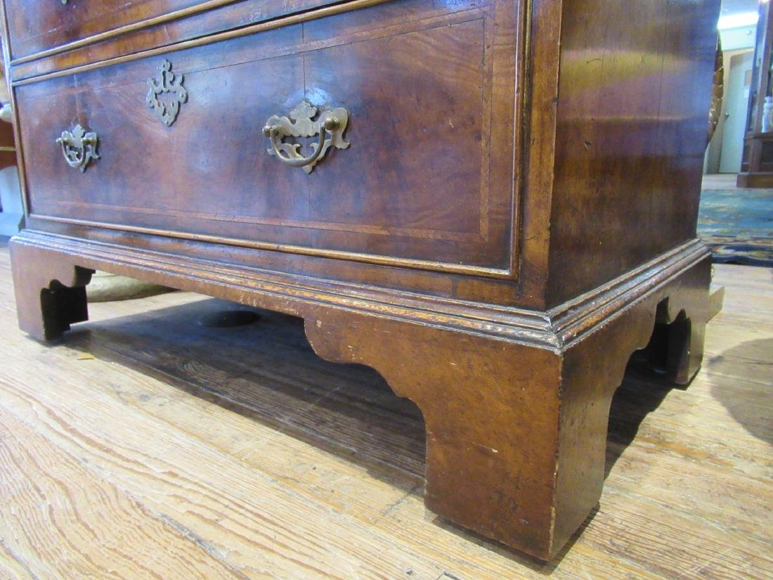 Inlaid and Burled Walnut Chests of Drawers - 5