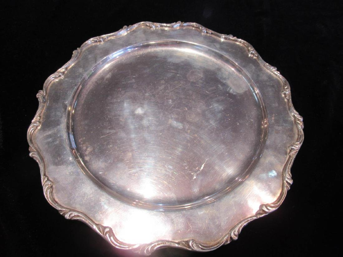"Mexican Sterling Silver Plates, mark ""G.A.C."" - 2"