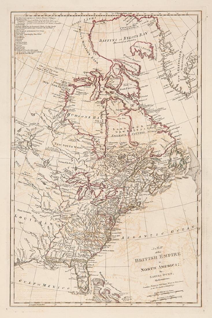Samuel Dunn of British Empire in North America