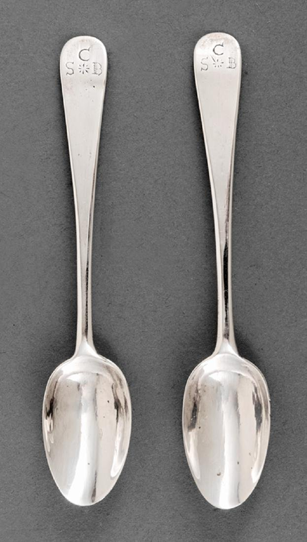 American Coin Silver Coffee Spoons