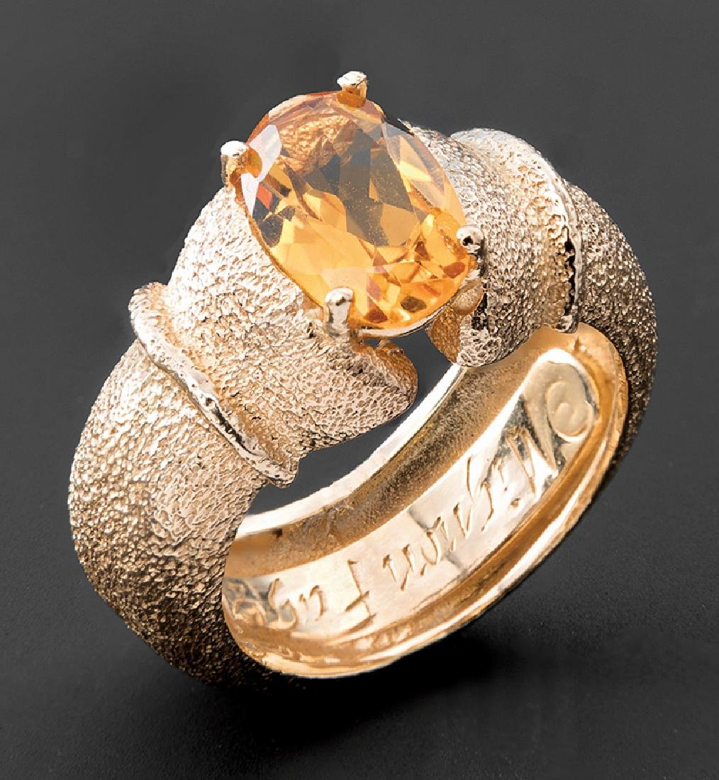 Mignon Faget 14 kt. Yellow Gold Ring