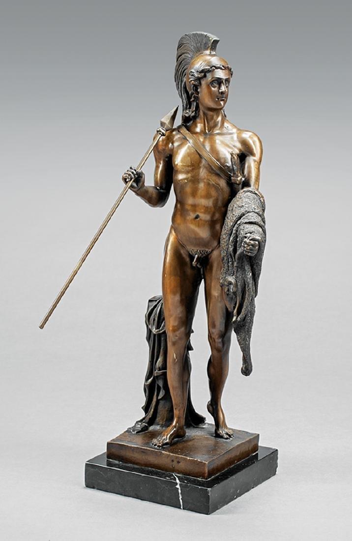 Grand Tour Bronze Figure of a Roman