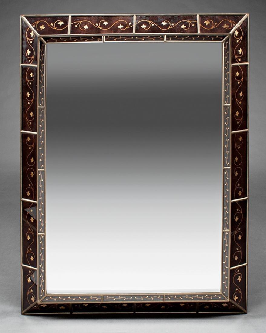 Continental Eglomise Mirror