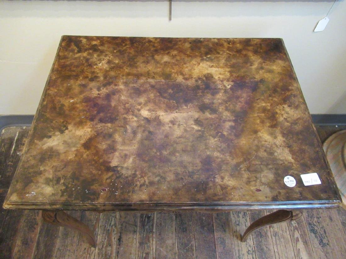 Antique French Provincial Carved Walnut Table - 3