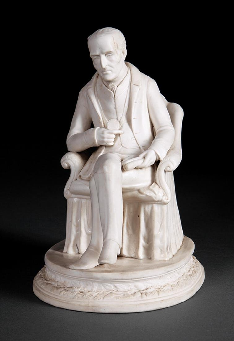 Parian Figure of the Duke of Wellington