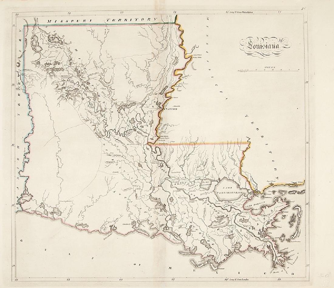 Mathew Carey, Two Maps