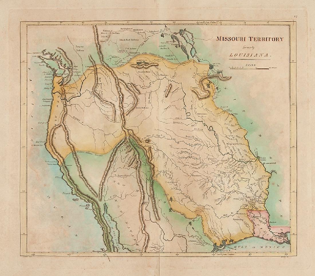 Mathew Carey, Two Maps - 2