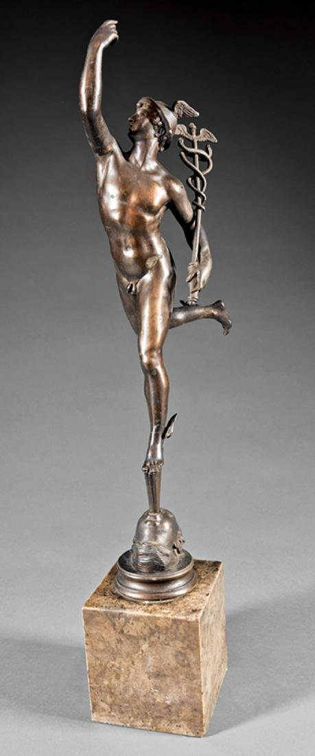 Bronze Figure of Mercury