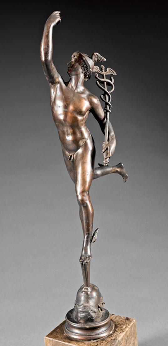 Bronze Figure of Mercury - 3