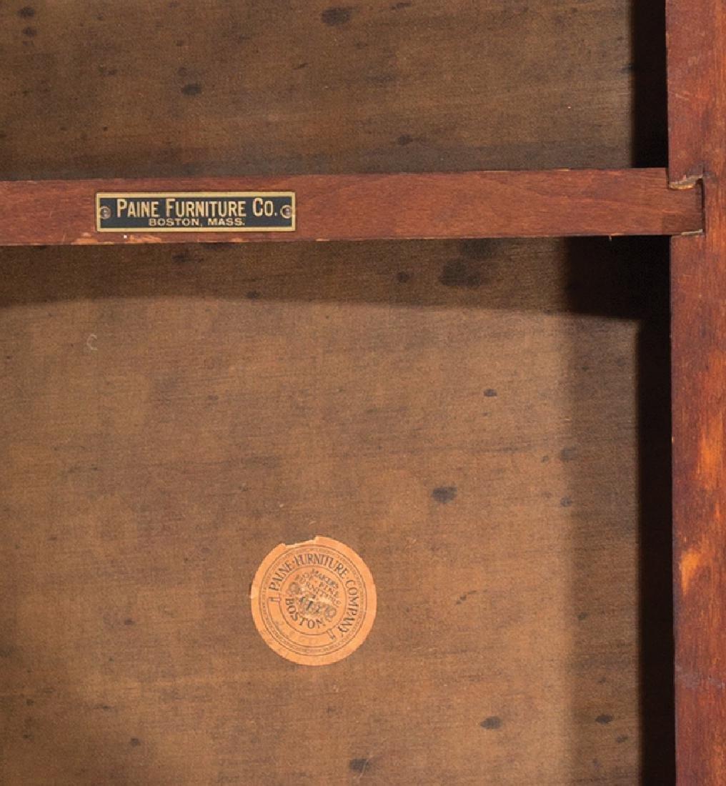 American Classical Mahogany Window Bench - 5