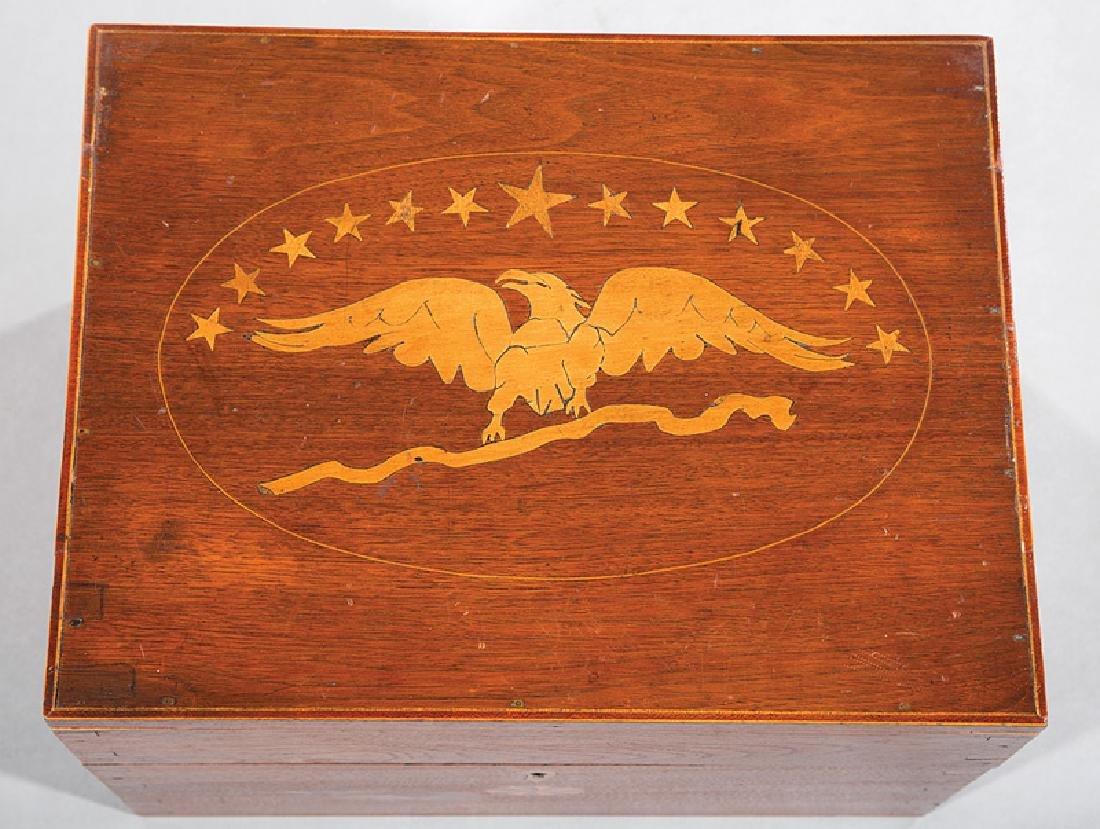 Southern Federal Inlaid Walnut Cellarette - 5