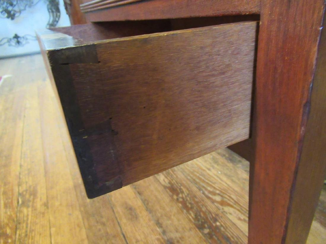 American Late Federal Walnut Sugar Chest on Stand - 8