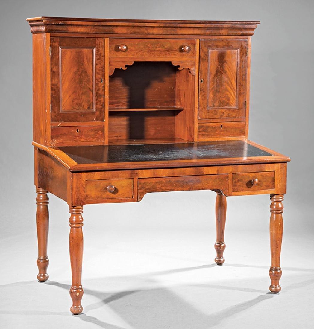 Southern Carved Cherrywood Plantation Desk