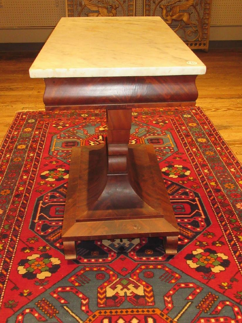 American Classical Carved Mahogany Mixing Table - 5