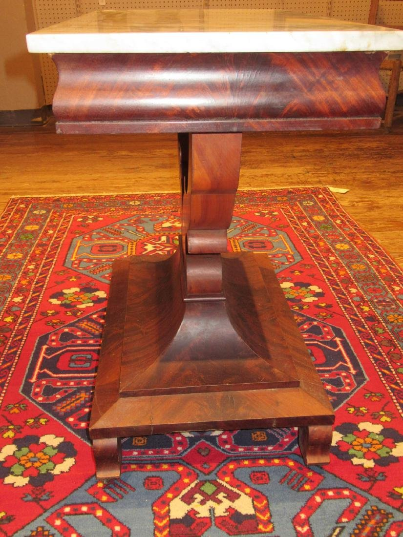 American Classical Carved Mahogany Mixing Table - 7
