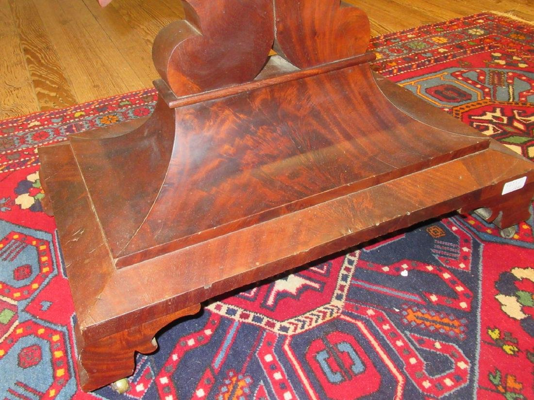 American Classical Carved Mahogany Mixing Table - 8
