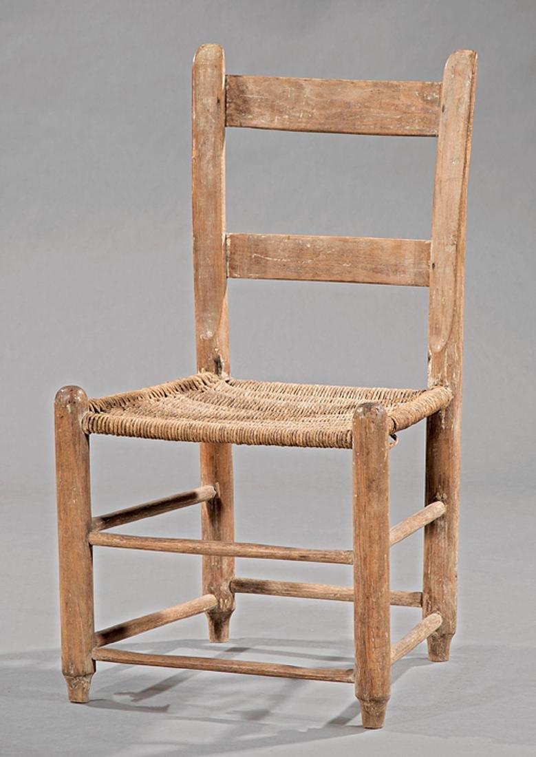 Southern Hardwood Ladderback Child's Chair