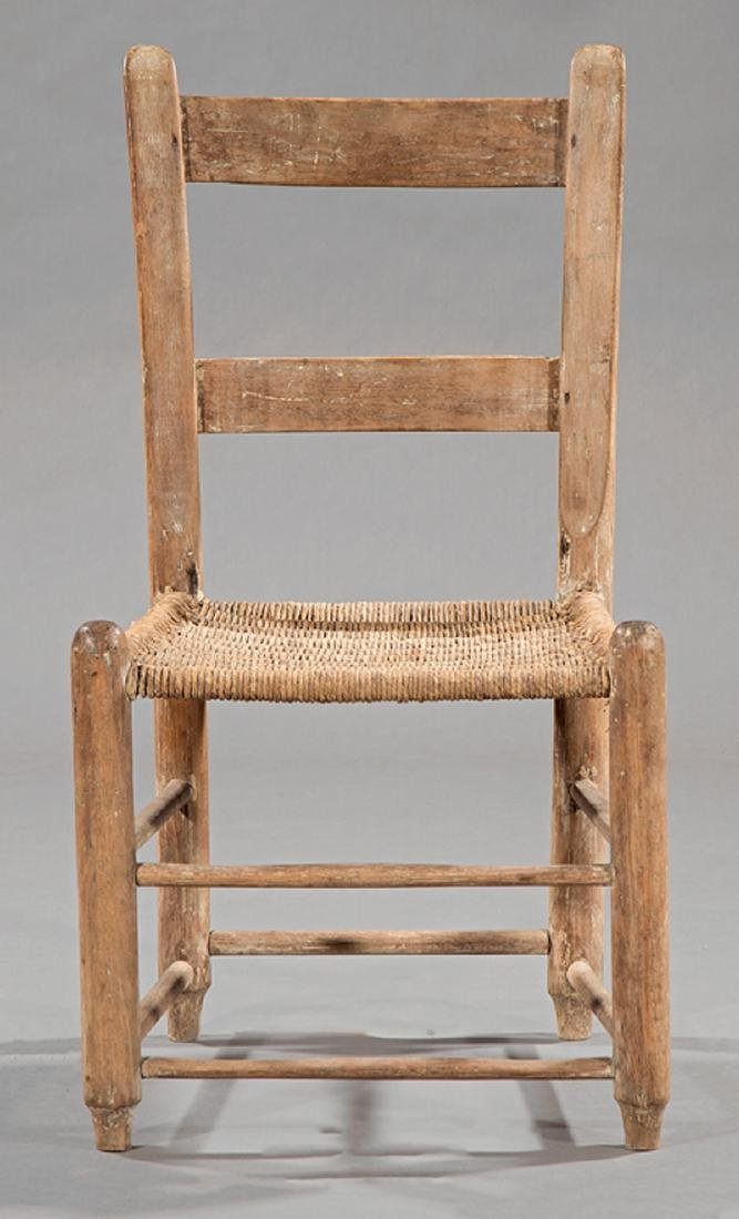 Southern Hardwood Ladderback Child's Chair - 2