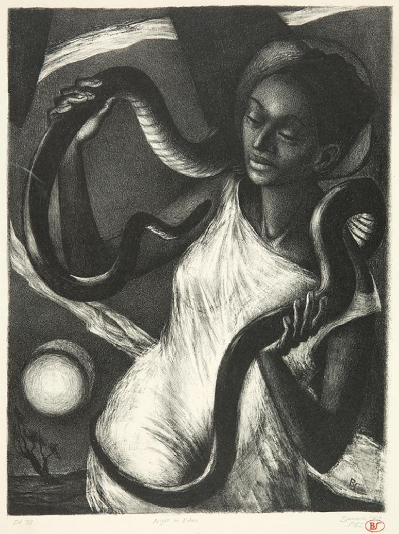 Benton Spruance (American, 1904-1967)