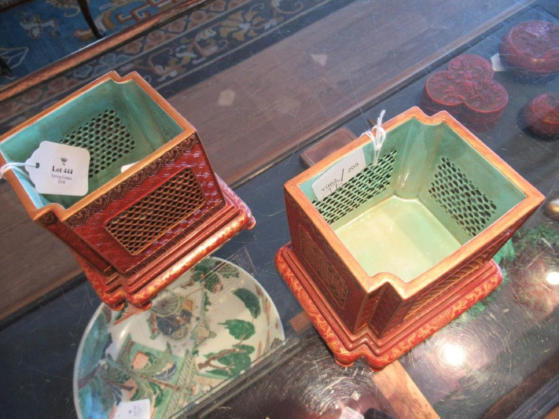 Chinese Porcelain Jardinieres - 2