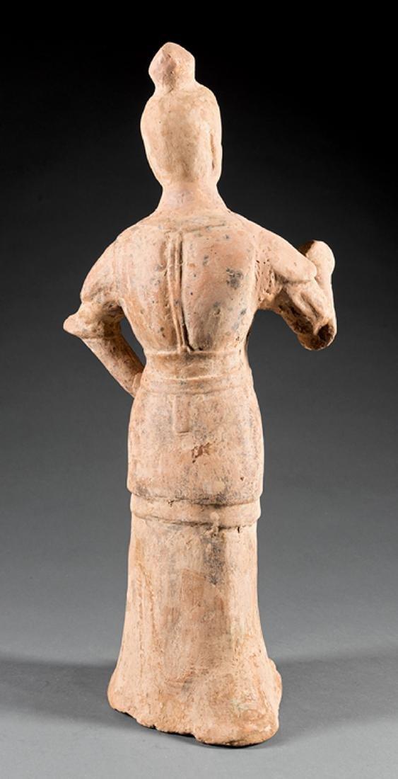 Chinese Tang-Style Pottery Figure of a Lokapala - 2