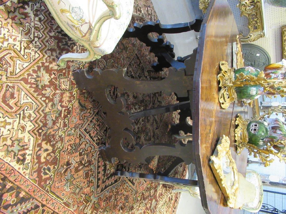 Italian Baroque Walnut Console Tables - 6