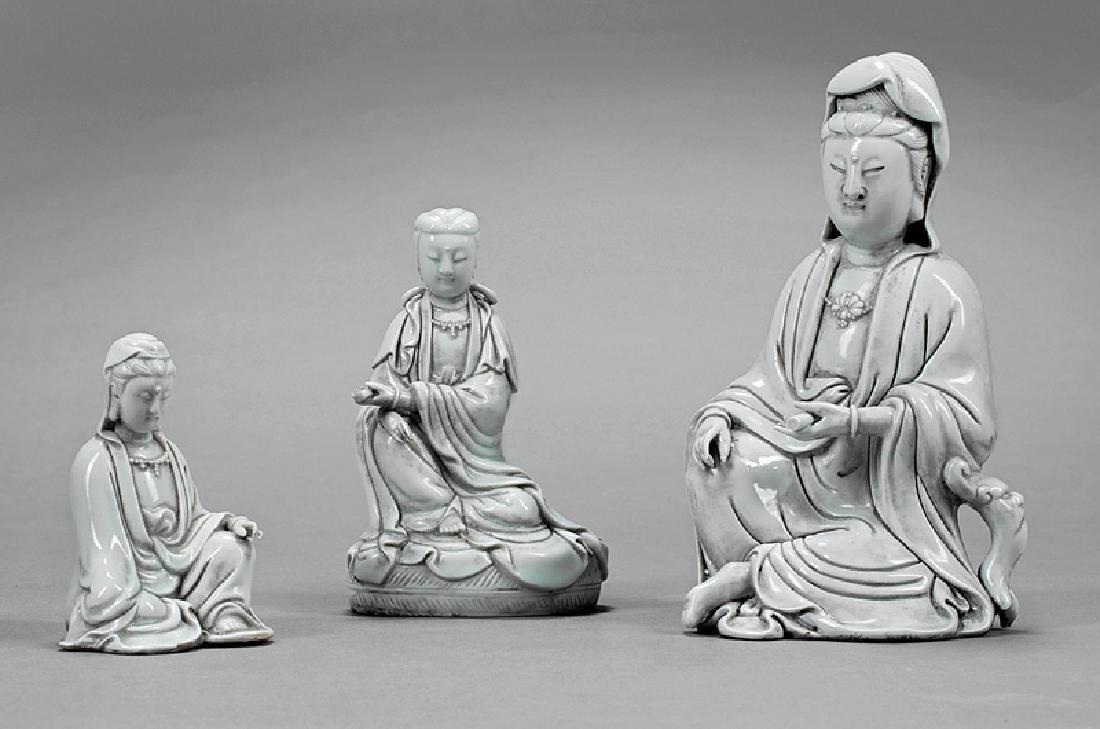 "Chinese ""Blanc de Chinese"" Porcelain Guanyin"