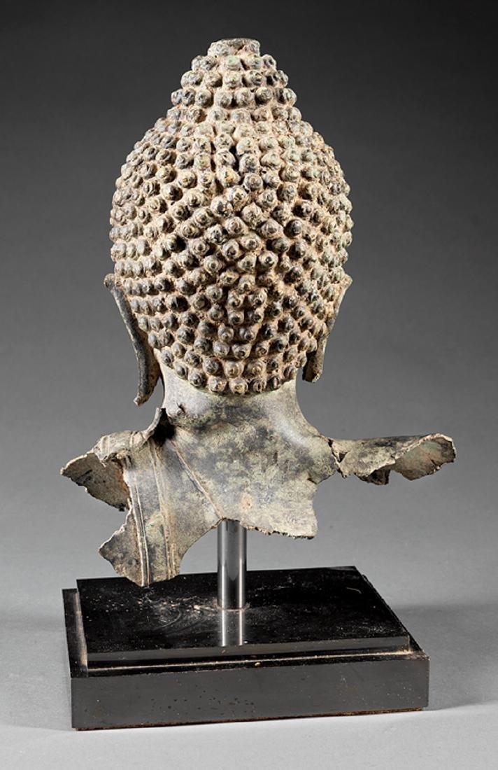 Southeast Asian Iron Buddhist Fragment - 3