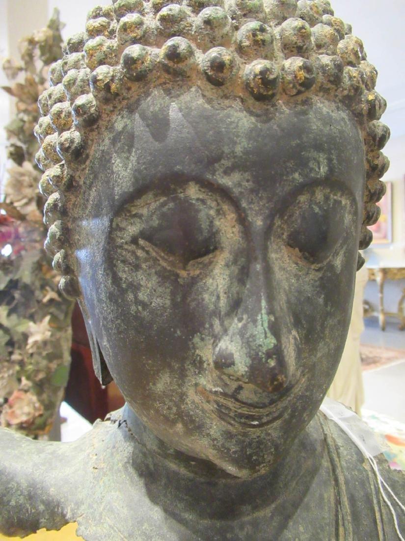 Southeast Asian Iron Buddhist Fragment - 4