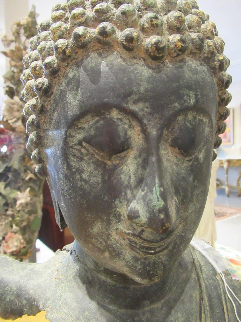 Southeast Asian Iron Buddhist Fragment - 4