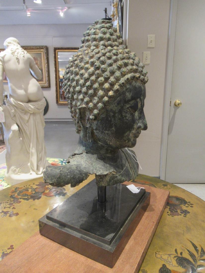 Southeast Asian Iron Buddhist Fragment - 5