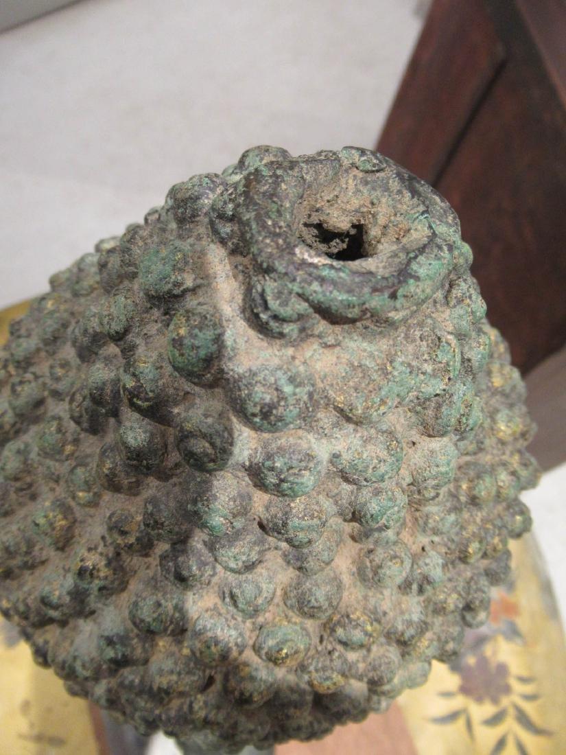 Southeast Asian Iron Buddhist Fragment - 8