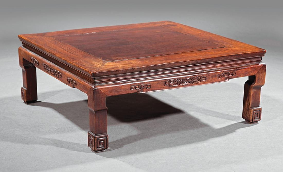 Antique Chinese Hardwood Low Table, Kangzhuo
